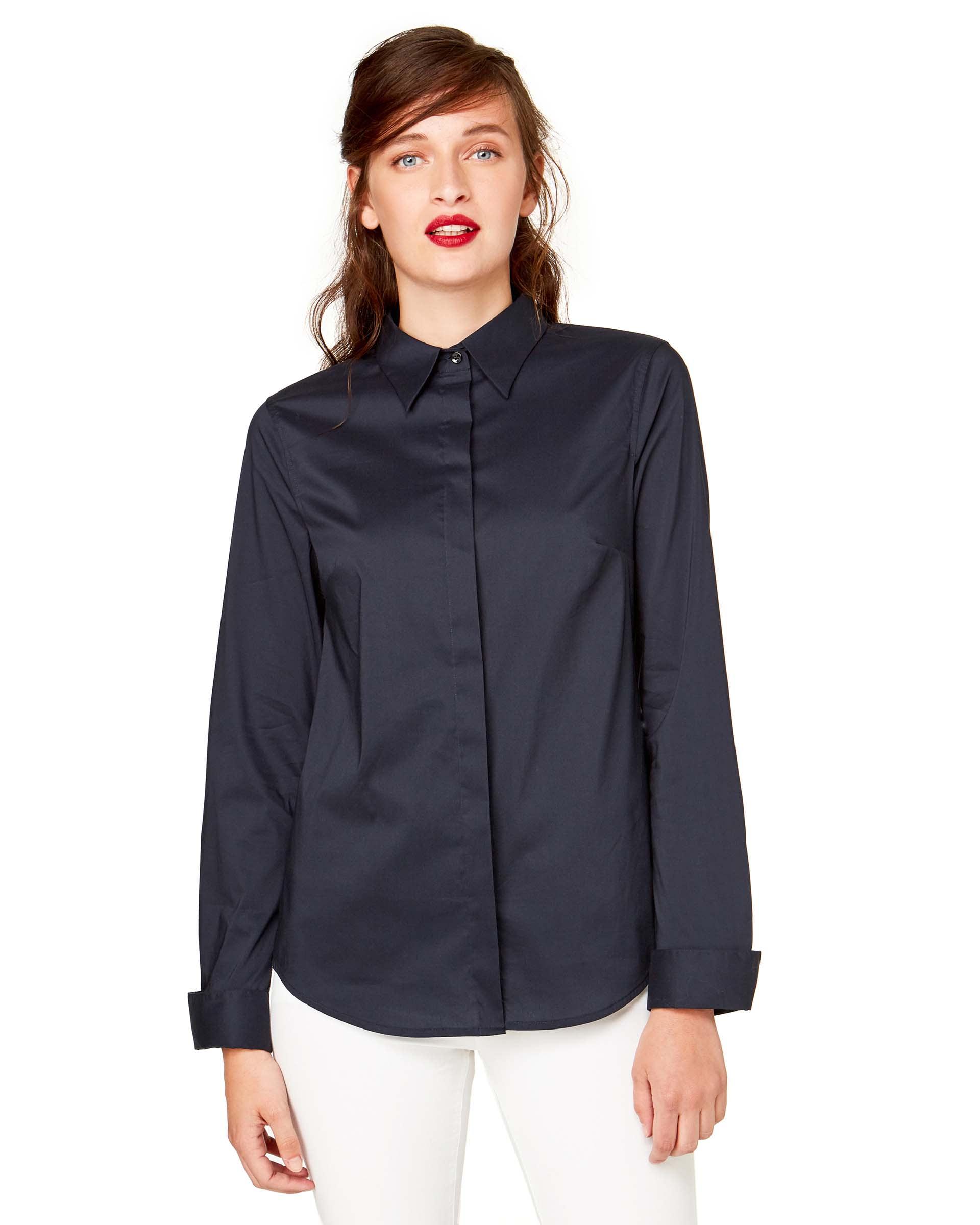 РубашкаРубашки<br>Цветы на фотографиях не являются товаром и продаже не подлежат.<br>Цвет: Синий; Размер: XS;