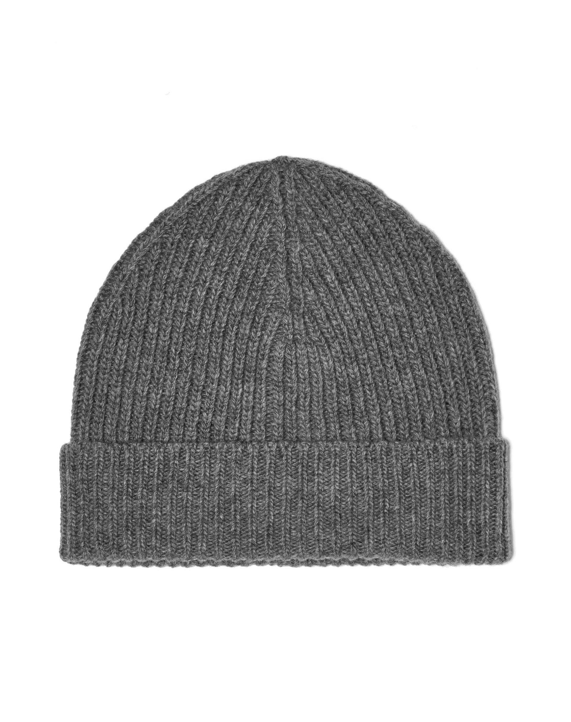 ШапкаГоловные уборы<br>Вязаная шапка из 100% шерсти мериноса. Мягкая на ощупь и обладающая превосходной теплозащитой.<br>Цвет: Серый; Размер: S;