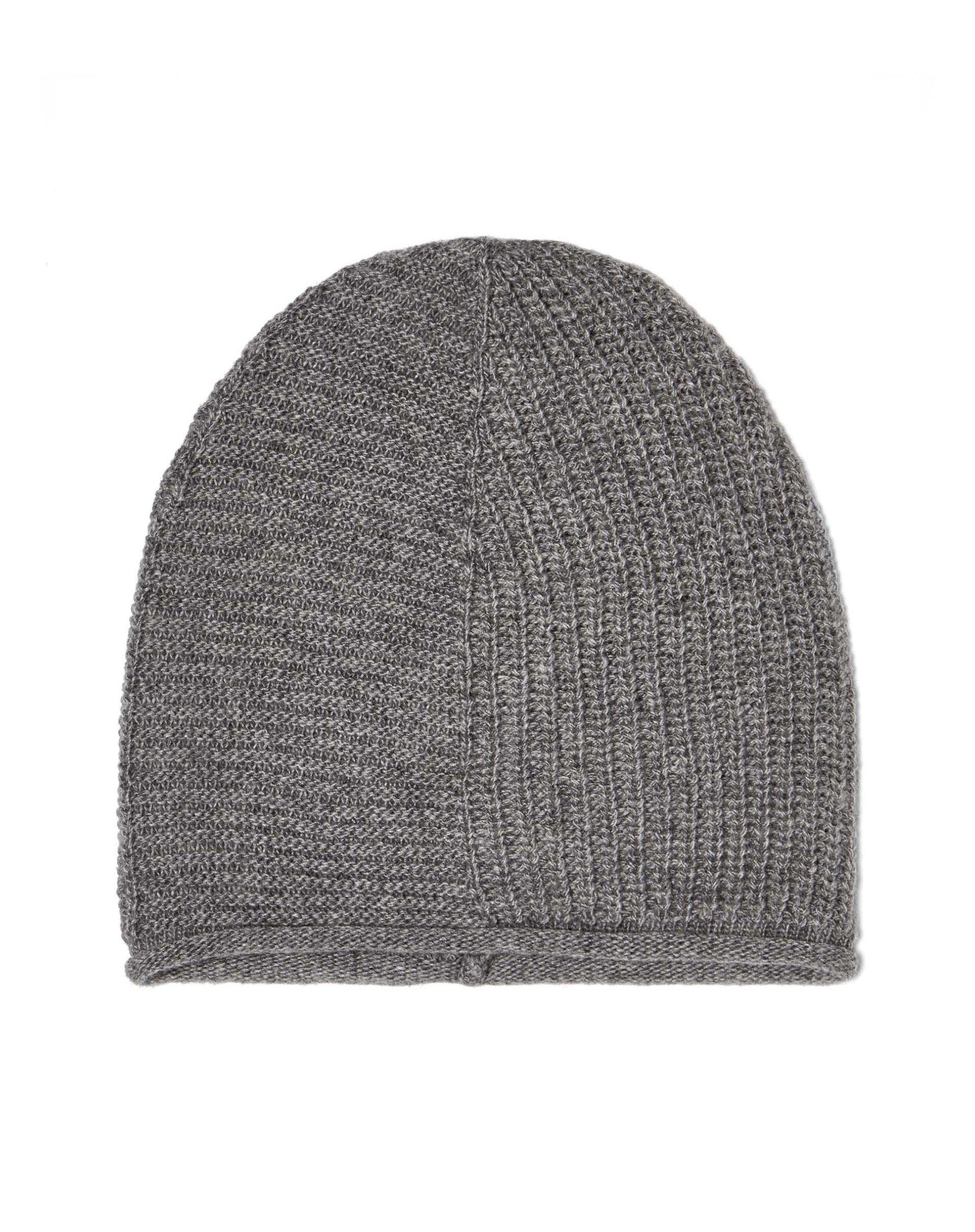 ШапкаГоловные уборы<br>Универсальная шапка бини выполнена из мягкой пряжи с шерстью.<br>Цвет: Серый; Размер: OS;