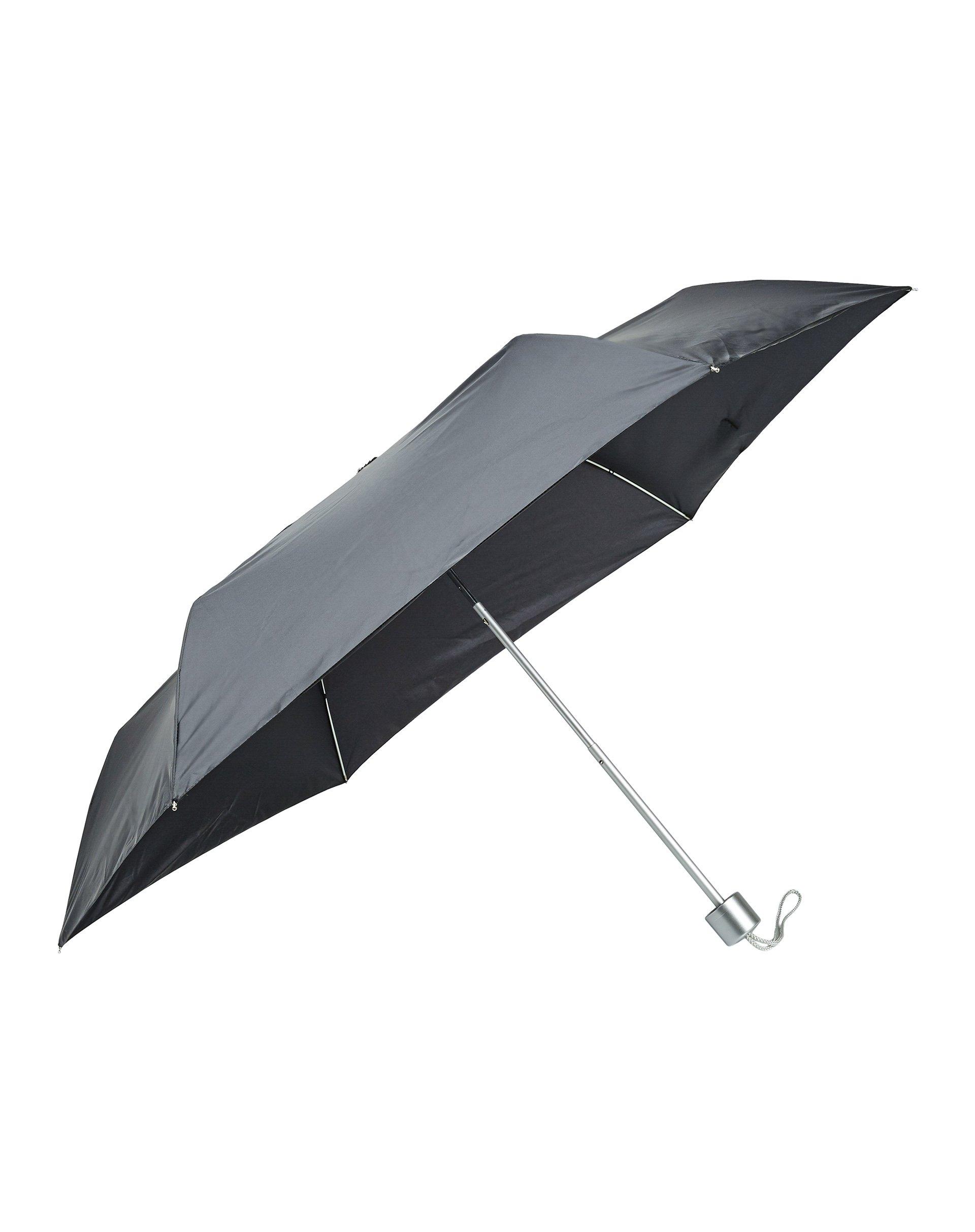 ЗонтЗонты<br>Зонт складной из ткани с рисунком и с чехлом в тон.<br>Цвет: Серый; Размер: ST;