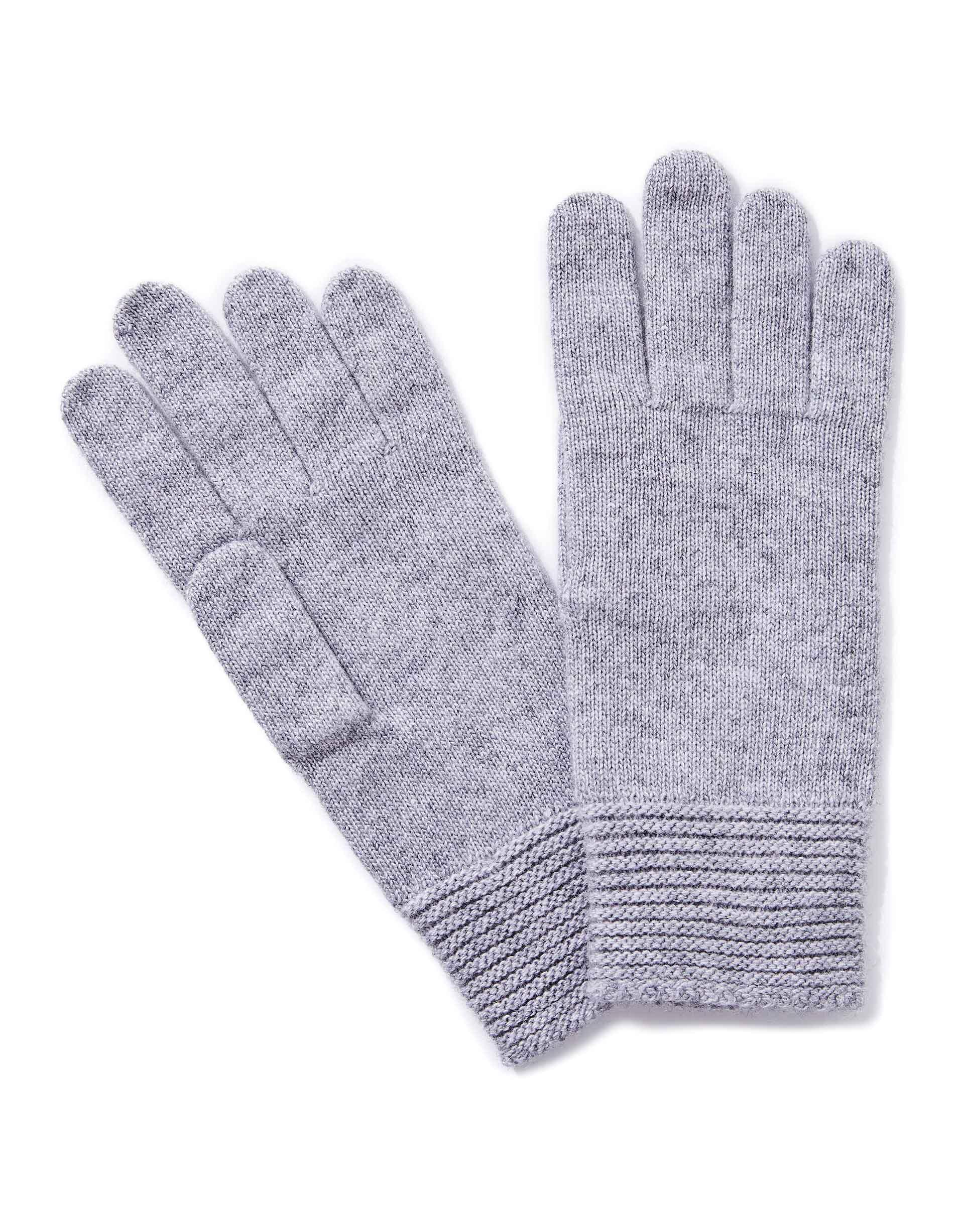 ПерчаткиПерчатки<br>Женские перчатки из полушерстяной пряжи. Высокие эластичные манжеты. Универсальный размер.<br>Цвет: Серый; Размер: OS;